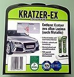 Kratzer Ex - Kratzer Entferner Set - entfernt Kratzer aus allen Lacken (auch Metallic)