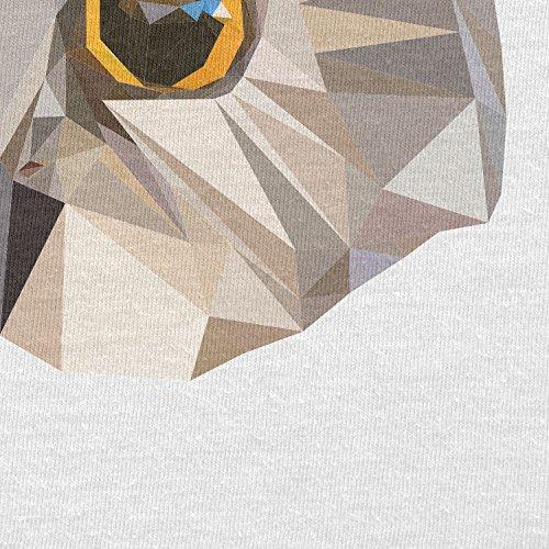 TEXLAB - Poly Oohoo - Herren Langarm T-Shirt Weiß