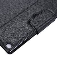 For Ipad Pro - Smart Wireless Bluetooth Keyboard Pu Leather Case Cover For Ipad Pro 12.9inch Black