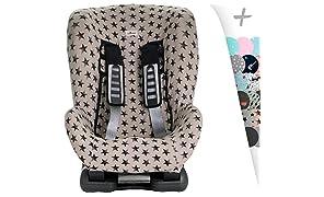 JANABEBE Funda universal para silla de coche grupo 1,2 y 3