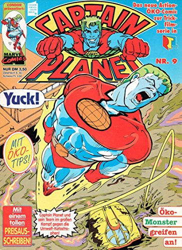 *Verlagsvergriffen* CAPTAIN PLANET und die Planeten-Retter Comic Magazin # 9: Die Kohlenmonoxid-Falle!