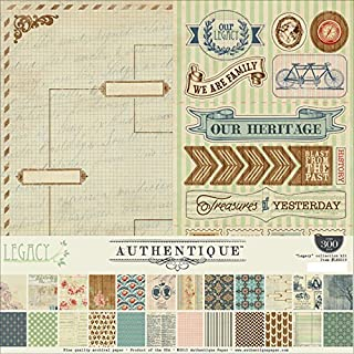 Authentique Paper Collection Kit 12-inch x 12-inch, Legacy