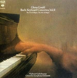 Glenn Gould Jubilee Edition: Bach: Keyboard Concertos, Vol II, No. 2 in E Mayor BWV 1053, No. 4 in A Mayor BWV 1055