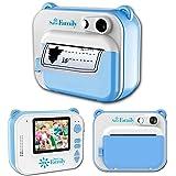 SaveFamilyPrint. Cámara Infantil instantánea-Digital. Impresión + 450 Fotos. Papel Libre de BPA. Incluye de Regalo 3 Rollos d