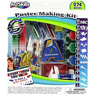 Artskills Poster Making Kit 253pcs-