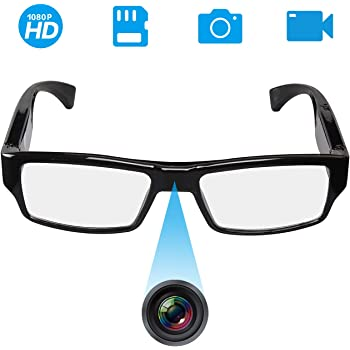 73ad3bafa88c6 Hidden Camera Spy Mini Camera HD 1080P Glasses Camera Ultra-small cam  Surveillance Recording Loop Recording Criminal Record spy gadgets Outdoor  Sports ...