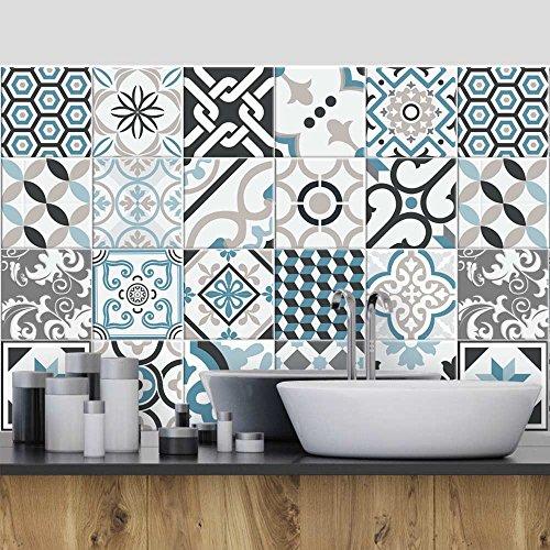 72 (Piezas) Adhesivo para Azulejos 10x10 cm - PS00054 - Oslo -...