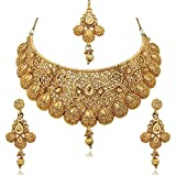 #5: Reeva Gold Plated Necklace Sets For Women