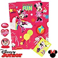 Disney® Minnie Mouse Children Gift Present Wrap Wrapping Paper Set (2 Sheets & 2 Gift Tags) (4)