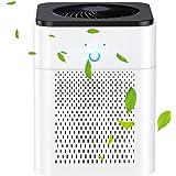 Luftreiniger, HEPA Filter Lonisator, Air Purifier 99,97% Filterleistung,3 Geschwindigkeiten USB Luftreiniger für Pollen Haust