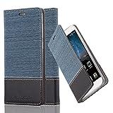 Cadorabo Book Case works with ZTE Blade A612 in DARK BLUE