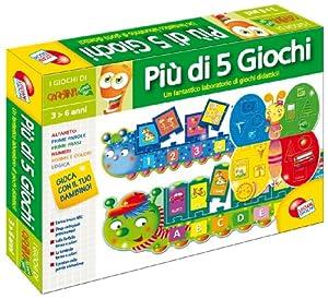 Liscianigiochi 26463 Giochi Carotina - Set de 5 Juegos (versión en Italiano) Importado de Italia