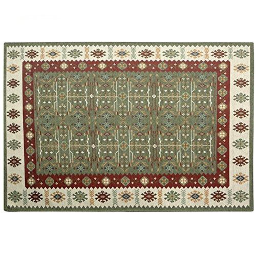 Lewie-Carpet Einfache Art und Weise Teppich Mats Nordic Schlafzimmer Bett Decke Wohnzimmer-Sofa-Kissen-Teppich 70 * 120CM Wear Antibakteriell - Amber Antibakteriell