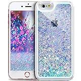 Coque iPhone 4S/4,ikasus Liquide Flux Diamant Mousseux Shiny Glitter Cristal Bling...