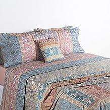 Bassetti Granfoulard.- Juego de cama Jasmine color V6 Beige para cama de 90 cm