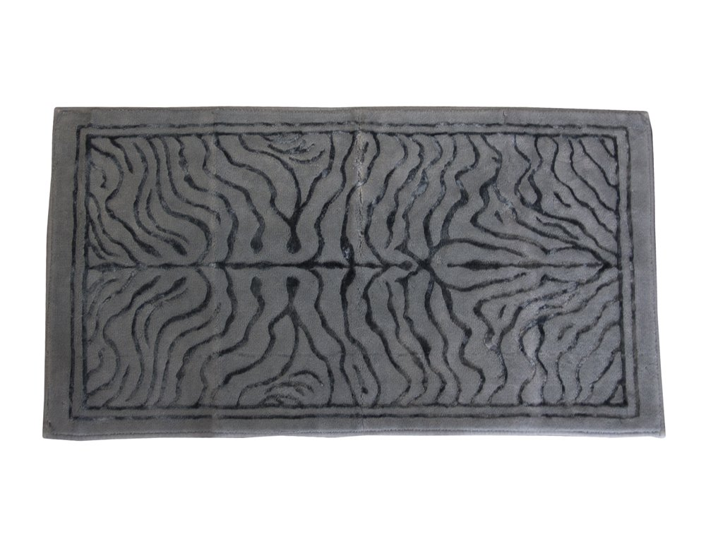 TAPPETO ARREDO BAGNO TIGER ALTA QUALITA' COTONE MULTIUSO TOP LEVEL (CM 60 x 130, POLVERE)