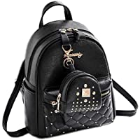 RED LIONS ELEGANT WOMEN BAGPACK WITH POUCH GREY
