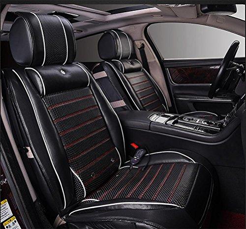 DIELIAN Beheizbare Sitzauflage Auto Heizkissen, 12V Universal Sitzkissen , black