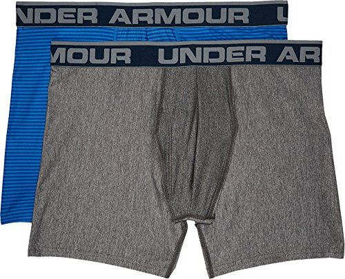 Under Armour Herren Original 6in 2 Pack Novlty Unterhose, Königsblau / Rot, S Mediterranean / Green Typhoon