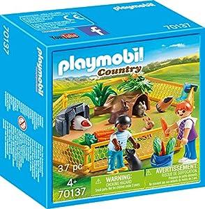 Playmobil 70137Country Animales Pequeños en freigehege, Multicolor