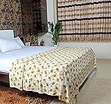 #10: MOSGARD- Mosquito Repellent Blanket (Floral Cream-L)