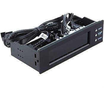 Gamuttek New 5 25 Zoll Lcd Panel Fan Speed Controller Cpu