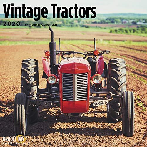 Calendario 2020 Tractor Pulling.Bright Day Kalender Fur 16 Monate Wandkalender Landliche Seite 30 5 X 30 5 Cm Vintage Tractors 2020