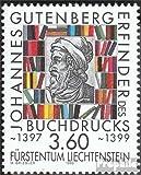 Prophila Collection Liechtenstein 1223 (kompl.Ausg.) 1999 Gutenberg (Briefmarken für Sammler)