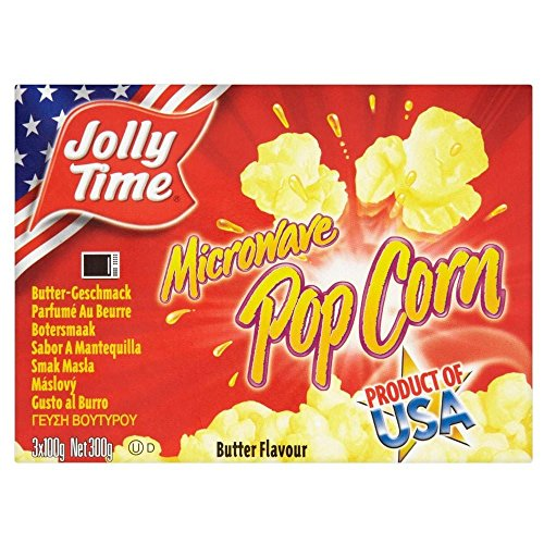 Jolly Time Microwave Popcorn - Butter (300g)