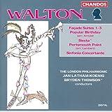 Walton: Facade Suites Nos. 1-3 / Popular Birthday / Siesta / Portsmouth Point