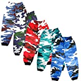 #9: VINAB Army Print Cotton Track Pants For Boys and Girls(pack of 5)