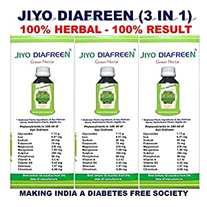 BIOMAP JIYO DIAFREEN Drops By Dr. R.K. SINGH -3 Pieces Combo Pack