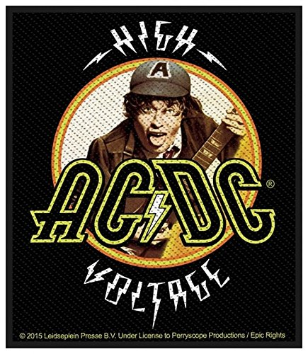 AC/DC ACDC - Patch toppa High Voltage Angus 8 x 10 cm