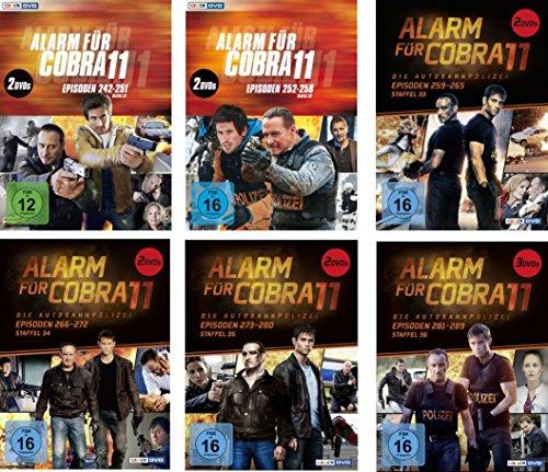 Alarm für Cobra 11 - Staffel 31-36 (11 DVDs)