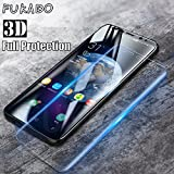 V CANTM Edge To Edge Full Screen Coverage 3D Anti-Fingerprint 0.33 Mm HD+ View Crystal Clear 3D Tempered Glass For Samsung Galaxy S8 (5.8 Inch) (Transparent)