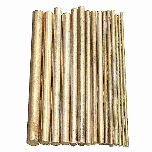 king-do-way-15-pezzi-striscia-di-ottone-barre-artigianato-metallurgico-100mm-oro-100mm