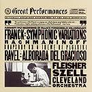 Rachmaninov: Rhapsody on a Theme of Paganini in Am; Ravel: Miroirs /Leon Fleisher