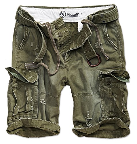 Brandit Shell Valley Vintage Shorts Oliv S
