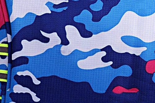 Camouflage Borsa A Tracolla Viaggiare Doppie Zaini Cartelle Borse Sportive,B B