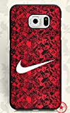 WoodCaseStory(TM) Samsung Galaxy S6 Edge Hülle Awesome Design for Nike Brand Logo Samsung Galaxy S6 Edge Hülle Shock-Absorption Hülle Cover