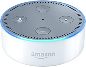 Amazon Echo Dot (2. Generation) Intelligenter Lautsprecher mit Alexa, Weiß