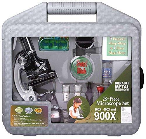 Ostern: NECTARIS Mikroskopier-Set, Mikroskop für Kinder mit 900-facher Vergrößerung