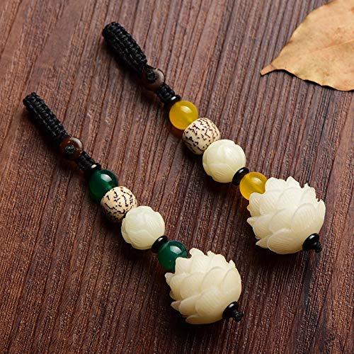 GangKun Paar, High-End, chinesischen Stil Schlüsselbund Männer und Frauen halten sichere Schlüsselanhänger Ornamente@Style eins