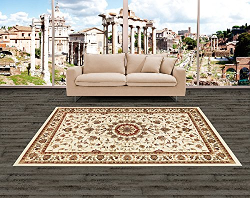 Starlight tappeto classico di design persiano new per arredare camera letto, ingresso casa ed il soggiorno pelo corto 110x170 cm