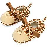 LACOFIA Pantofole Peluche per Bambini Ciabatte per Animali Scarpe da Casa Invernali Antiscivolo per Bimbo