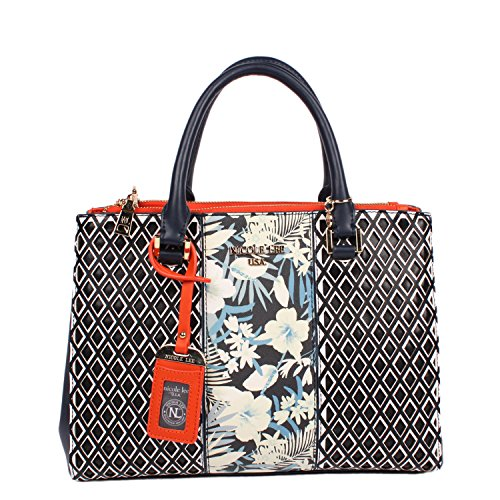 nicole-lee-dream-flower-print-tote-bag