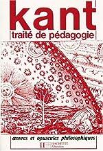 Traité de pédagogie de Emmanuel Kant