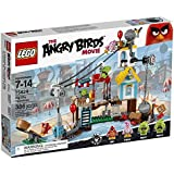 LEGO - 75824 - The Angry Birds Movie - La Démolition de Cochon Ville