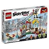 LEGO Angry Birds - Demolición de ciudad cerdo, juego de construcción (75824)