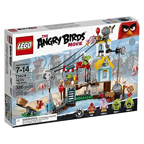 Lego The Angry Birds Movie - 75824 - la Demolizione di Pig City